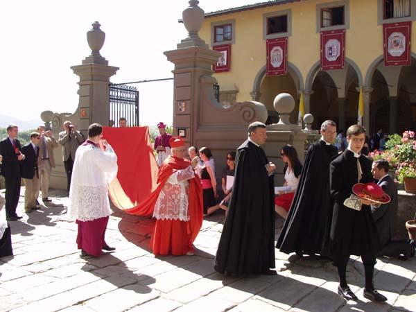 arzobispo de toledo capa larga
